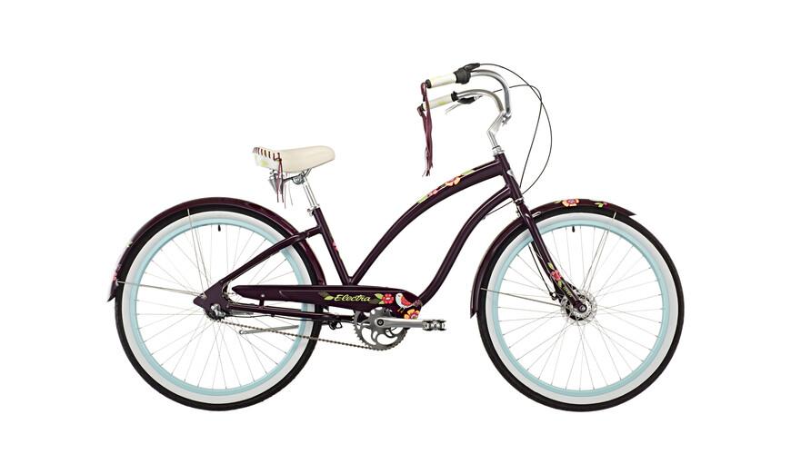 Electra Wren 3i - Cruiser Mujer - Ladies violeta